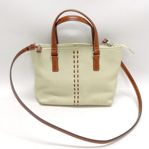 Fossil Off-White/Ivory Leather Purse #ZB7013